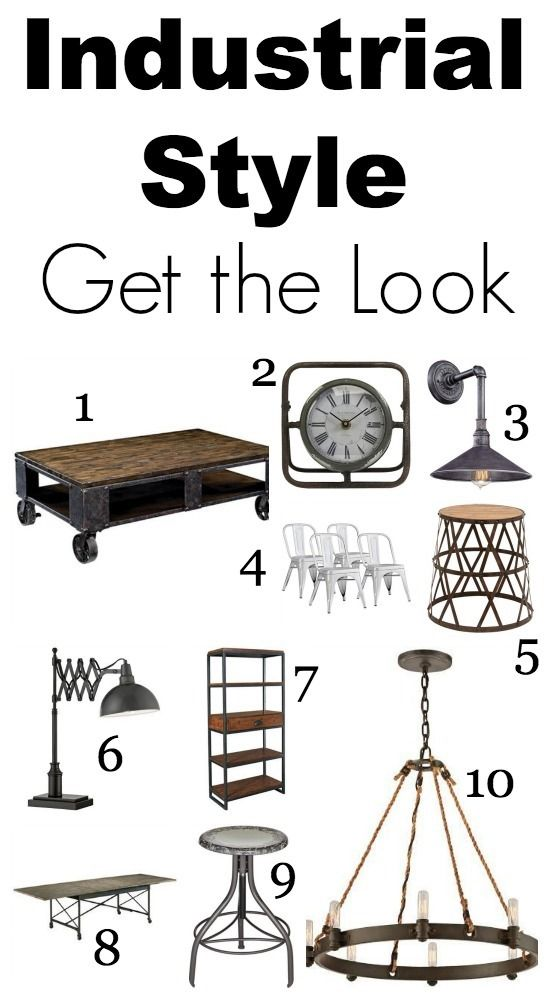 Industrial Decor From Lamps Plus