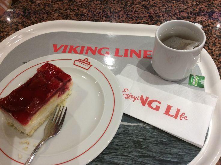 Coffee break onboard -Viking Line