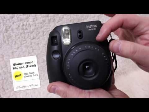 Fujifilm Instax Mini 8 Review & Tips - YouTube