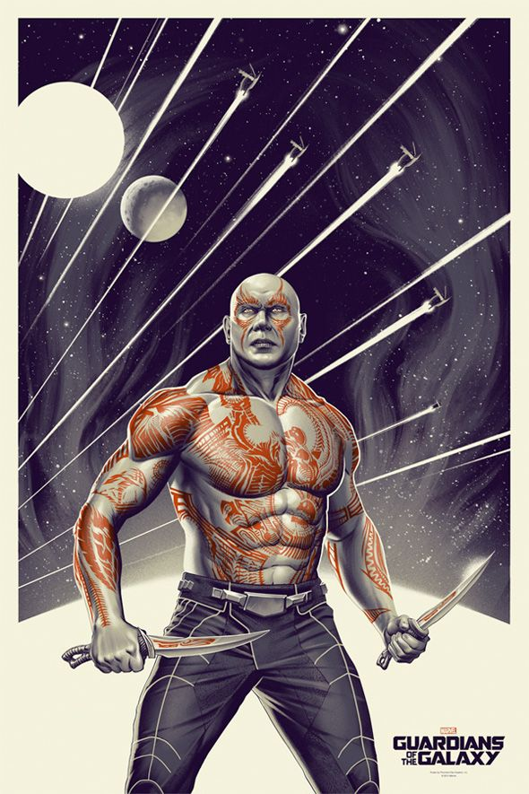 Drax the Destroyer by Phantom City