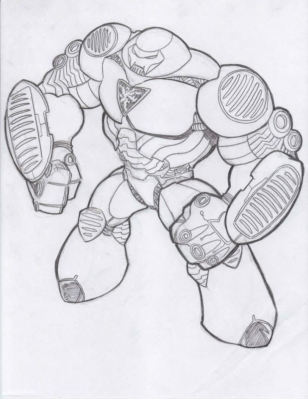 Ironman hulkbuster armour for colouring in | Marvel's ...