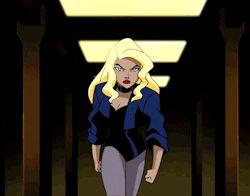 justice league Black Canary medits justice league unlimited JLU
