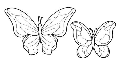 Risultati immagini per farfalle disegni