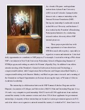 Pauline Martinez featured by the National Science Foundation (NSF) for her diversity research.