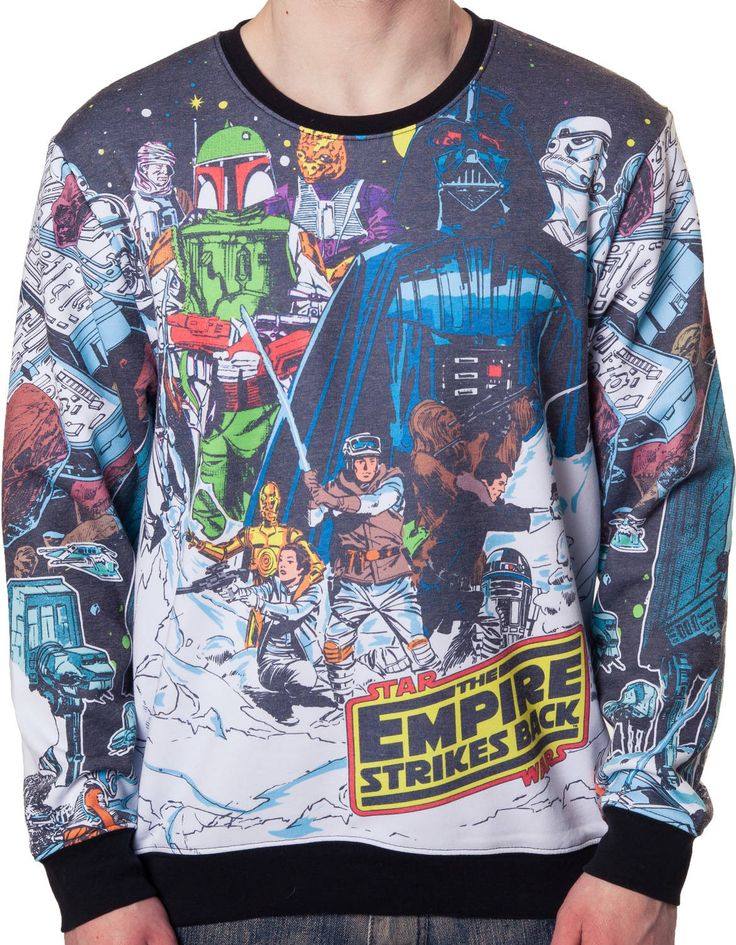 Star Wars Vintage Hoth Sweatshirt: 80s Movies Star Wars Sweatshirt
