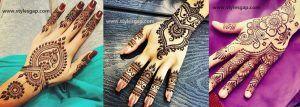 Simple & Easy Eid Mehndi Designs 2016-2017 Latest Collection