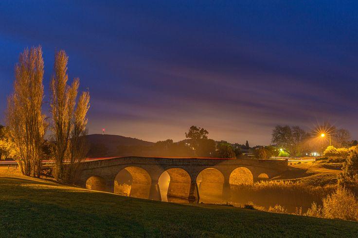 Richmond bridge at night by Dietmar Kahles - Photo 114378667 - 500px