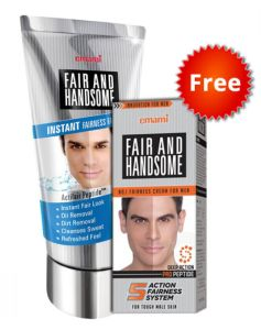 Zotezo-Fair & Handsome Instant Fairness Face Wash 100gm  Cream 30gm worth Rs.135 at Rs.99 Only