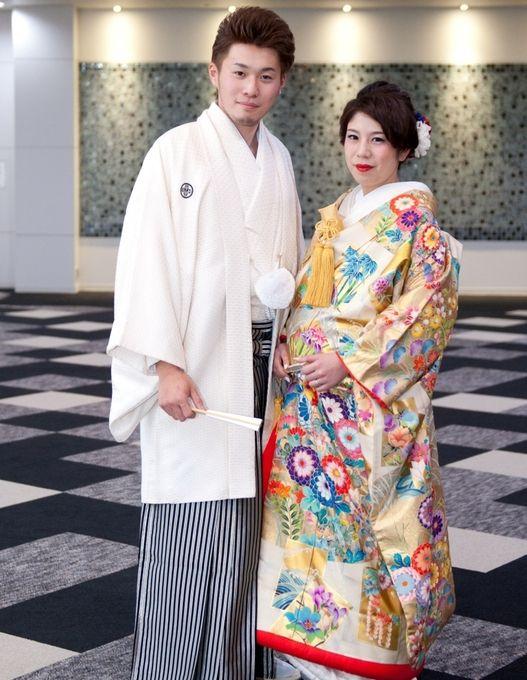 【福岡県久留米市 ホテルニュープラザKURUME・ウェディング】M様パーティー風景 美しい着物姿