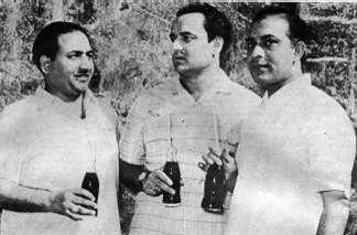 Rafi, Mukesh and Talat