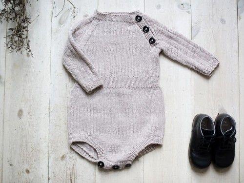 strikket romper gutt
