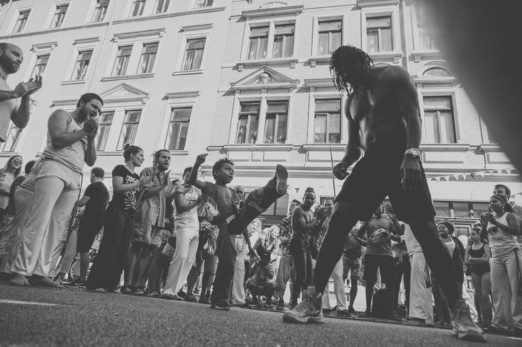 Capoeira beim Hechtfest - Dresden