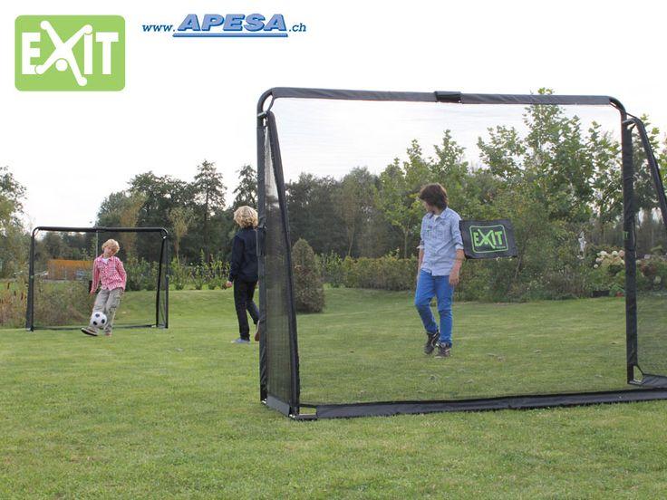 New Exit Fussballgoal Coppa Tor f r den Garten x cm Tiefe