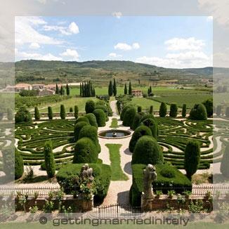 italian gardens veneto
