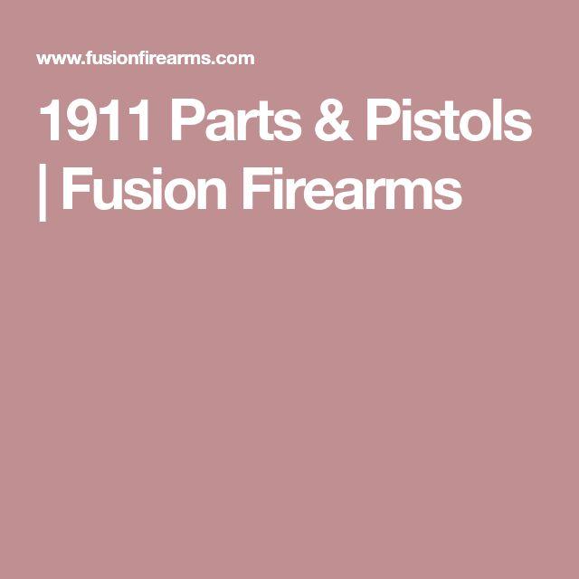 1911 Parts & Pistols | Fusion Firearms