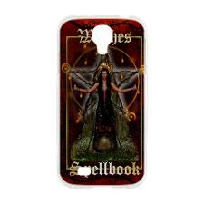 Witches Spellbook (Red/Fire Samsung Galaxy S4 Case