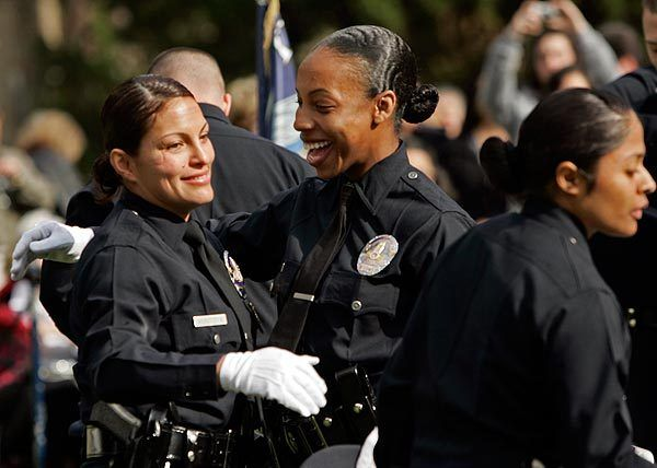 Lapd Female Officers Los Angeles Police Department