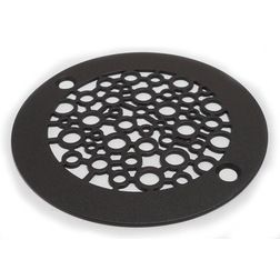 Nature Bubbles Shower Drain, Oil-Rubbed Bronze - $75