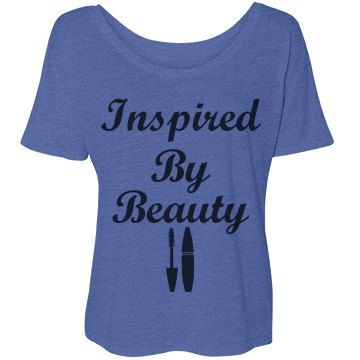 Inspired By Beauty #3: SarahBe Designs. #customizedgirl #inspired #beauty #mascara #fashion