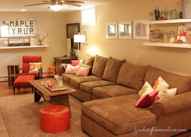 Basement Decor Ideas Brilliant Review