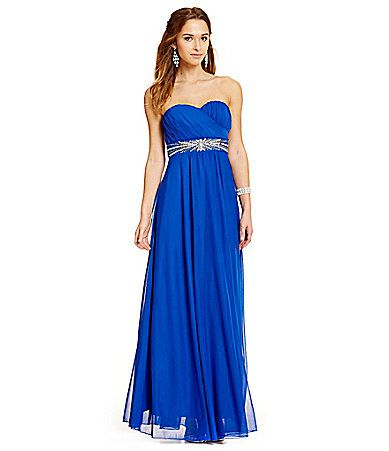 Let Dillards Be Your Destination For The Perfect Long Prom Or Formal Dress