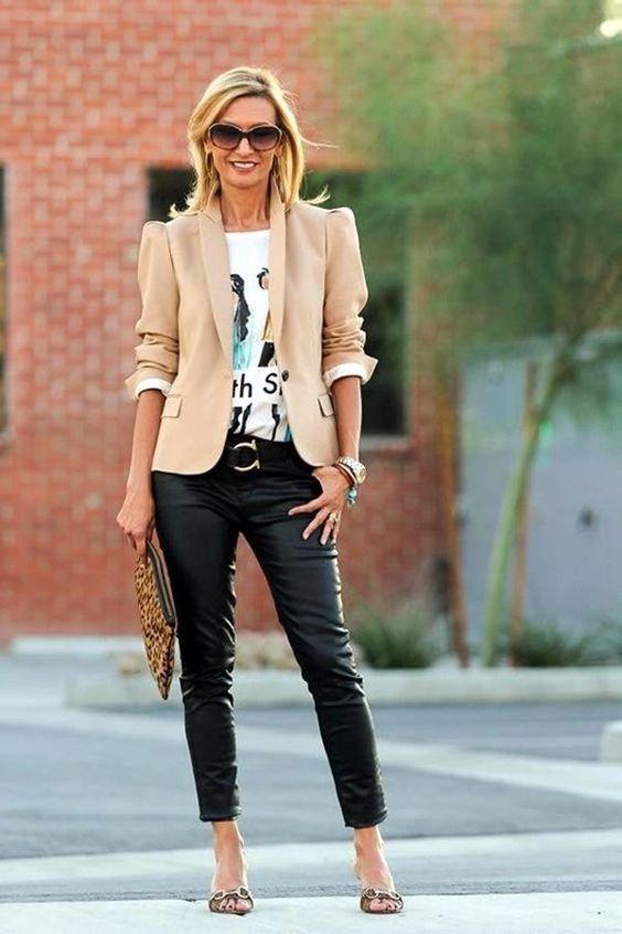 06b72ffd3 Looks sofisticados para mujeres de 40 años - Curso de Organizacion ...