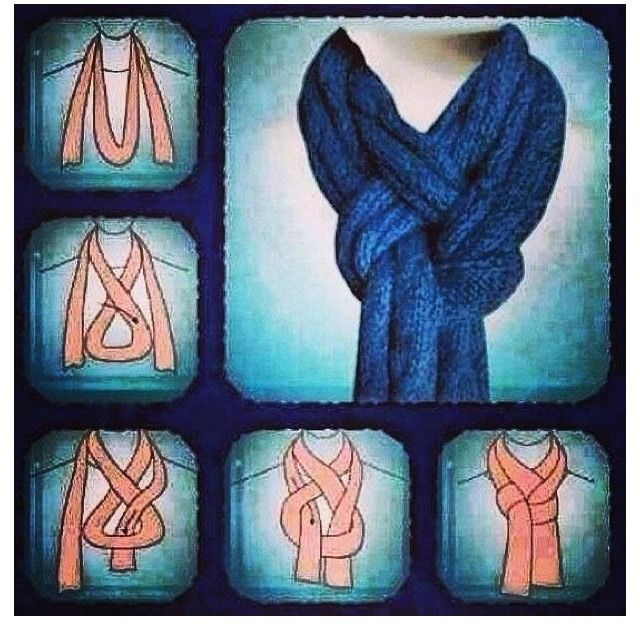 DIY: How To Wear A Scarf