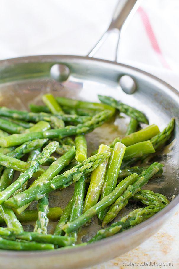 Maple Mustard Sauteed Asparagus Recipe