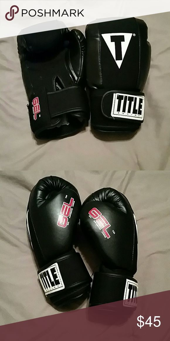 Title Boxing Gloves Gel The most comfortable Boxing gloves. Everlast gloves do not compare to these. Title boxing gloves are also washable!! Title Boxing  Other