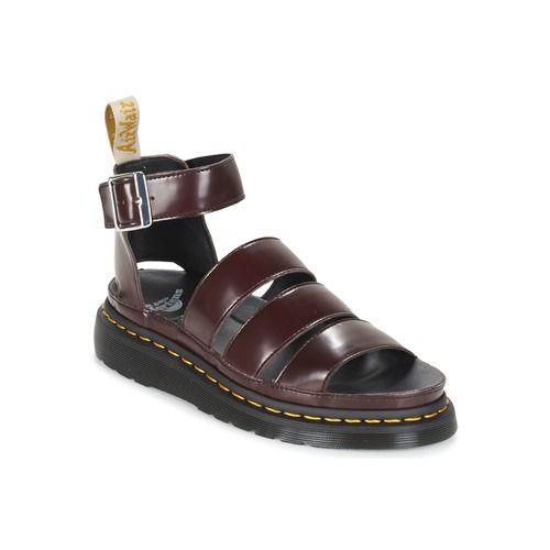 Schuhe Damen Sandalen / Sandaletten Dr Martens V CLARISSA II Rot / Kirsche