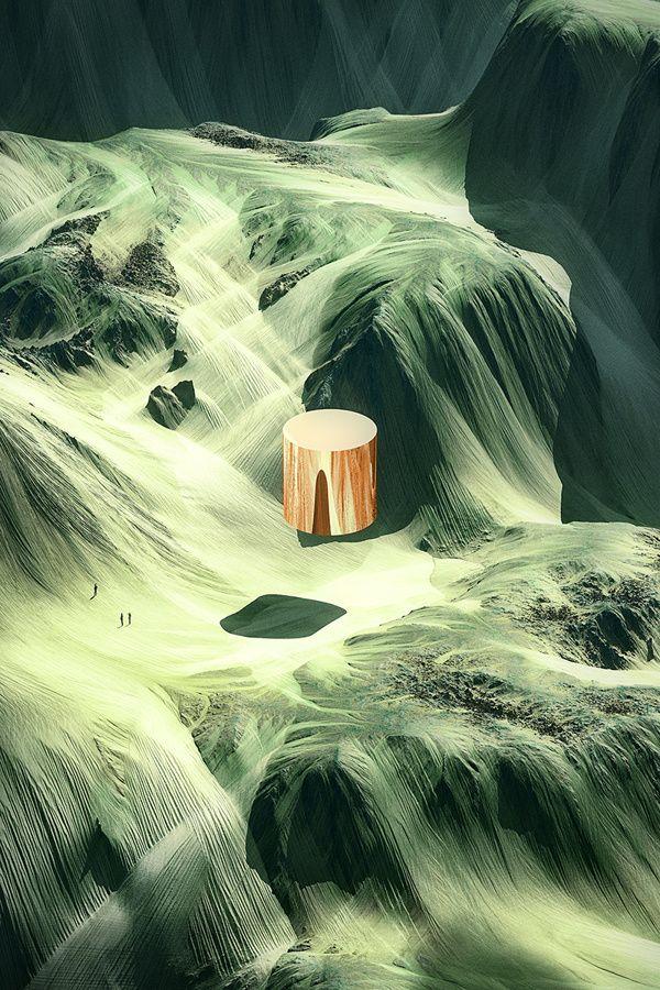 "The Vast Landscapes Of ""Shapes In Nature"" Give Us Vertigo | The Creators Project"