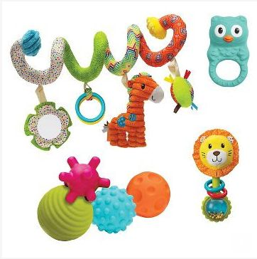 20% off Infantino Toys. Valid 4/30 - 5/6.