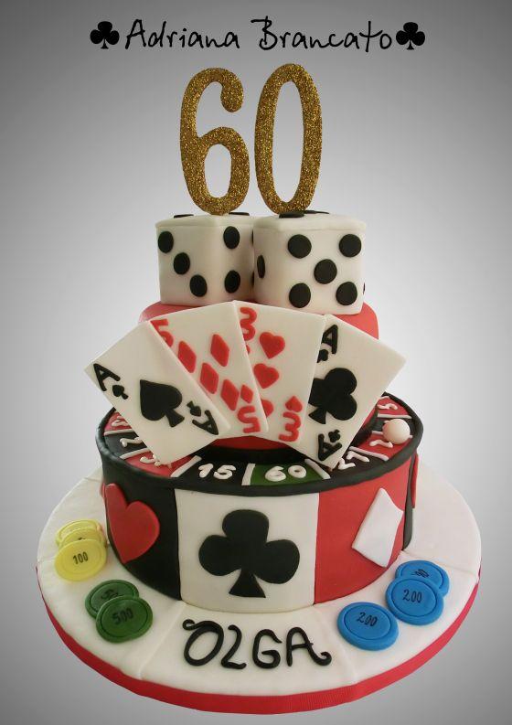 Torta Casino - Poker Cake                                                                                                                                                                                 Más