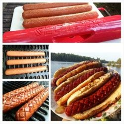 SlotDog BBQ Tool for Perfect Hot Dogs