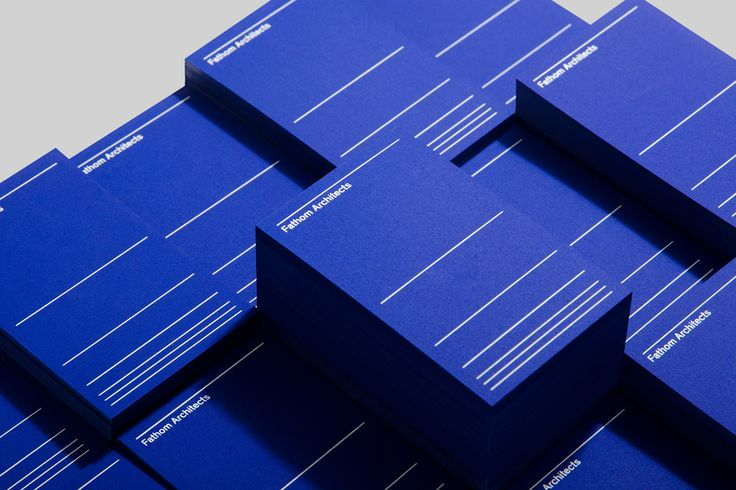 Fathom Architects by dn&co — The Brand Identity