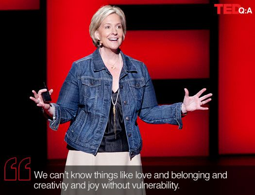 http://blog.ted.com/2012/03/16/being-vulnerable-about-vulnerability-qa-with-brene-brown/  Q & A w/ Dr. Brown