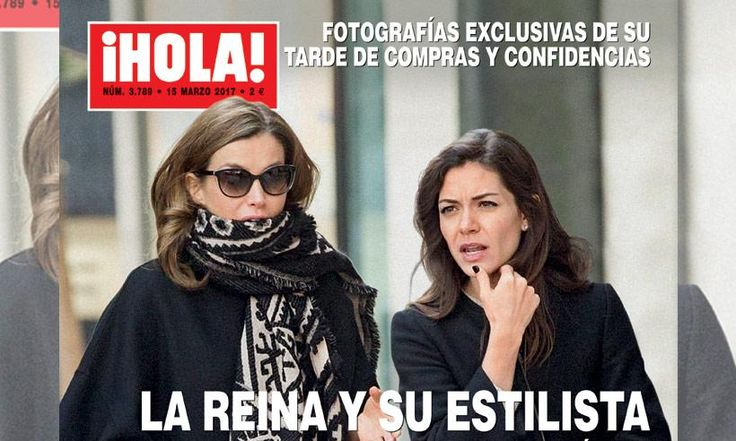 revista hola espana reina letizia 2017 | Fotografías exclusivas en ¡HOLA!: la reina Letizia y su estilista ...