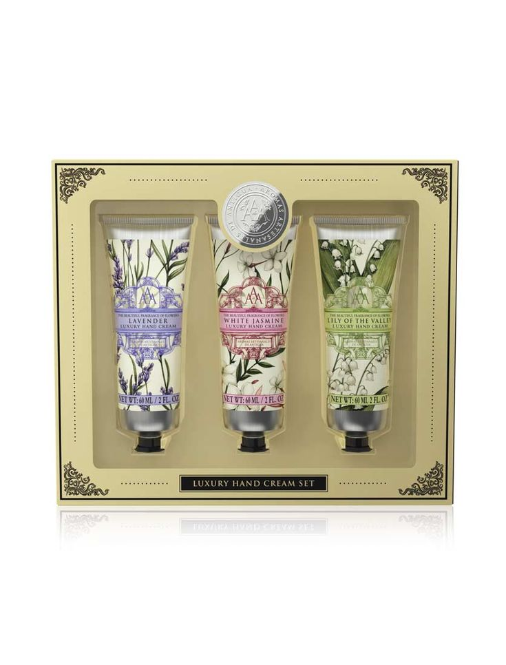 Aromas Antigua floral hand cream collection