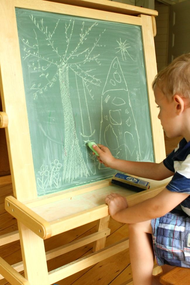 """Why little ones should """"fill the page"""" and how to teach it!"""