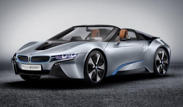 El BMW i8 Spyder cada vez esta más cerca de pasar de auto de concepto para la producción. #tiendadellantas #motos #carro #seguridad #prevención #diseño #innovación #tecnología #motor #rueda