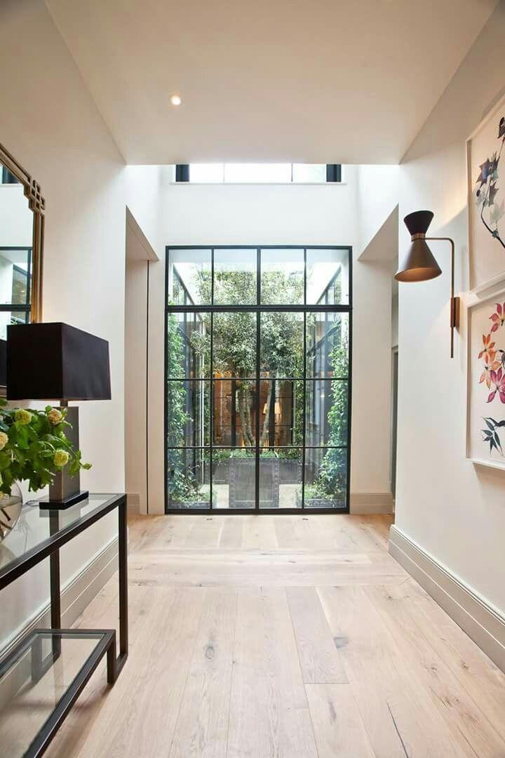 Stahlfenster-Tür-Wand – Interieur – #Interieur #StahlfensterTürWand