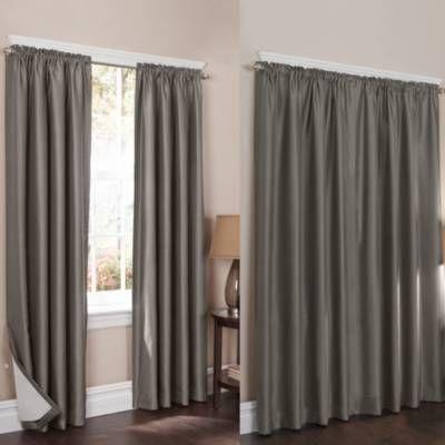 wraparound sierra room darkening noise reducing 2pack window curtain panels