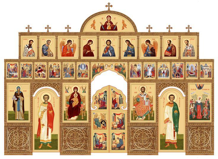 Курская иконописная мастерская во имя прп. А. Рублева. Роспись, печать икон, иконостасов