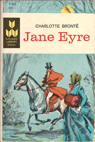 Scholastic Library Edition of Jane Eyre (Paperback cover, 1965)