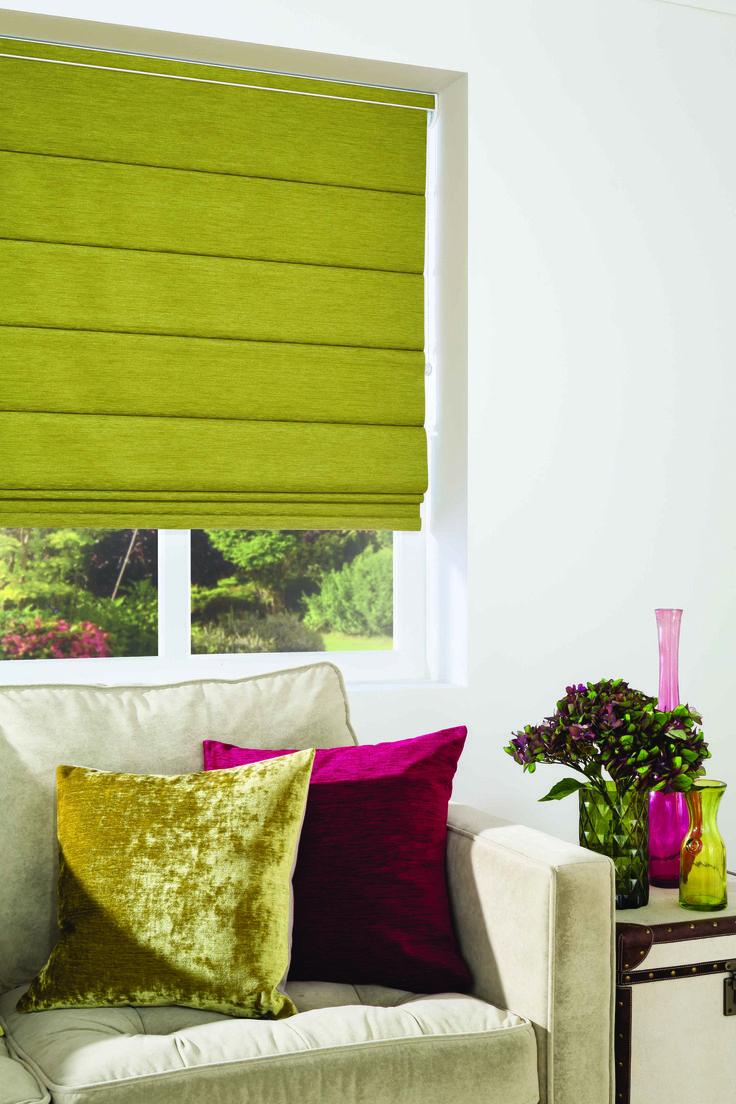 Products rollers in vogue blinds - Chenille Olive Roller Blindsrollersolives