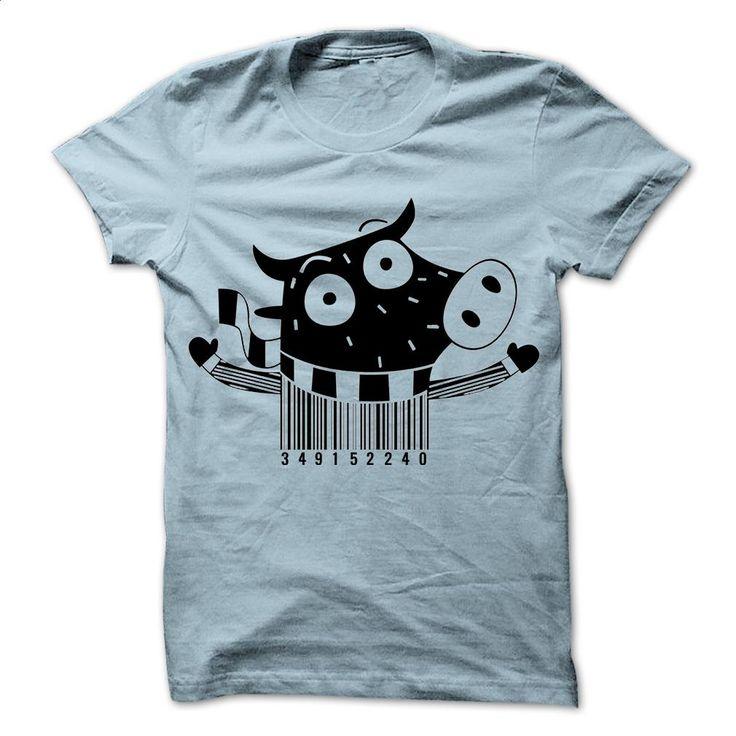Barcode cow T-Shirts T Shirts, Hoodies, Sweatshirts - #hoodies #dress shirts for…