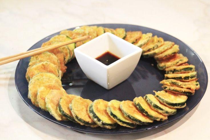Cuisine coréenne, le Hobakjeon (호박전) - http://kimshii.com/2012/11/cuisine-coreenne-le-hobakjeon-%ed%98%b8%eb%b0%95%ec%a0%84.html - corée du sud, cuisine coréenne, kfood, kimshii, kimshii.com, nourriture coréenne, plat coréen, recette coréenne
