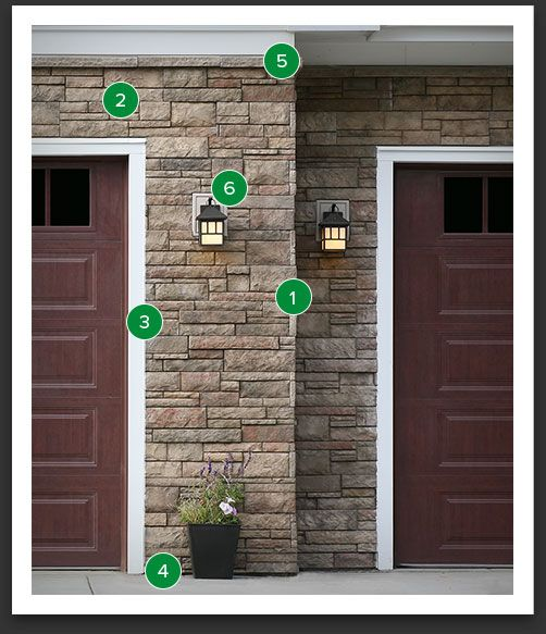 23 best boral exterior masonry images on pinterest stone for Faux wood siding options