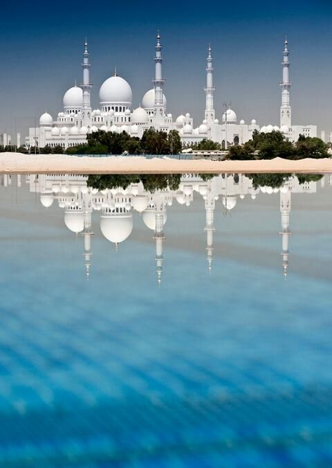 Sheikh Zayed Grand Mosque, Abu Dhabi, UAE ~ ღ Skuwandi