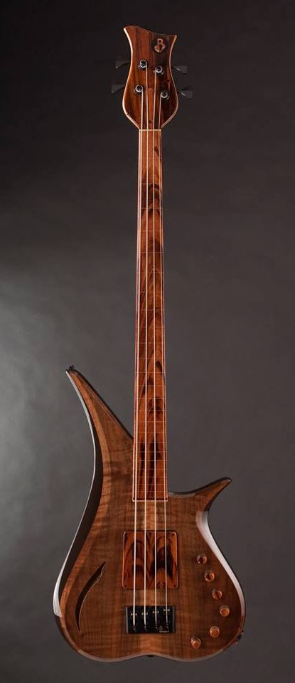 Marozi 4 String Fretless by BL Design Custom Bass Guitars